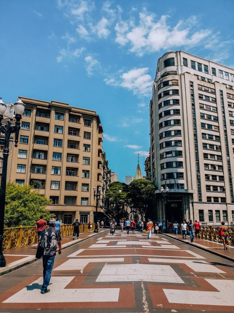 Viaduto Santa Ifigênia Sao Paulo Brazil South America