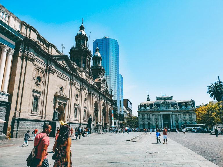Plaza de Armas Santiago Chile South America