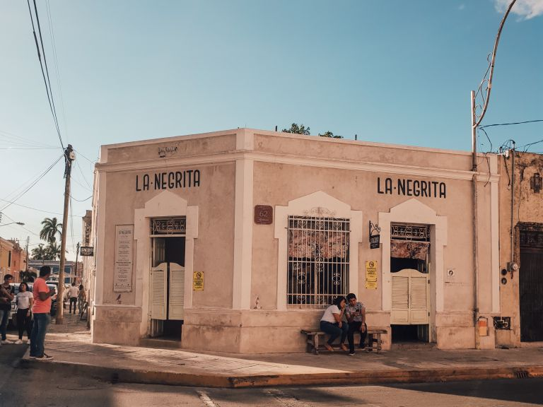 Cantina La Negrita Merida Mexico North America