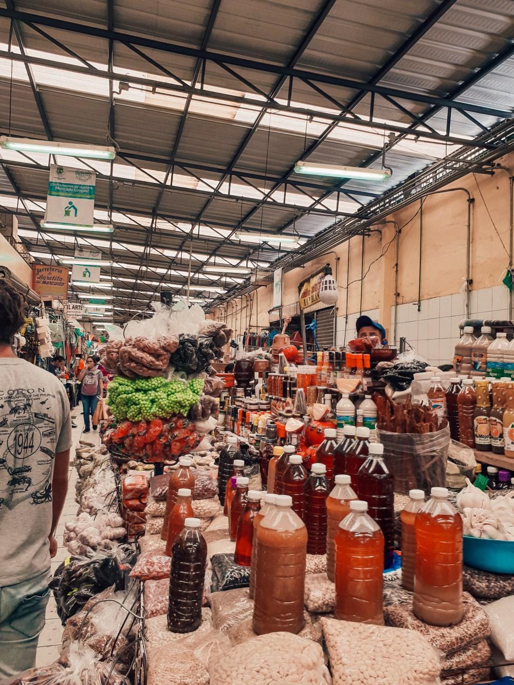Lucas Galvez Market Merida Mexico North America