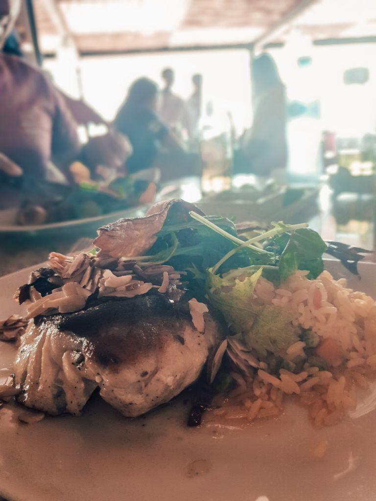 Progresso Yucatan Mexico North America Seafood Lunch