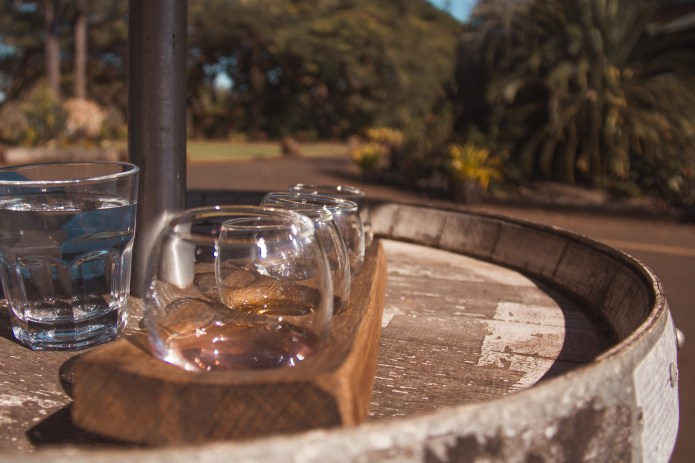 Mt Uncle Distillery Tasting Flight Atherton Tablelands Queensland Australia