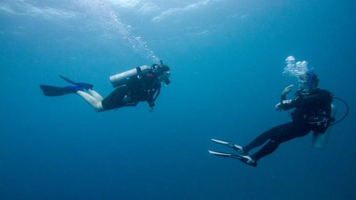 Scuba Diving Great Barrier Reef Cairns Queensland Australia