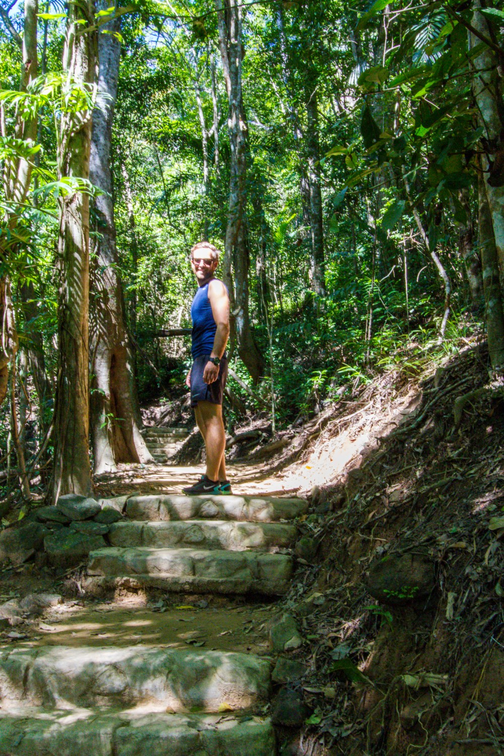 The Arrows Hike Cairns Queensland Uphill hike
