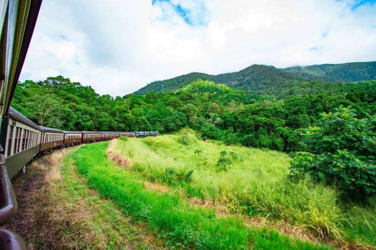 Fields Kuranda Scenic Railway Cairns Queensland Australia