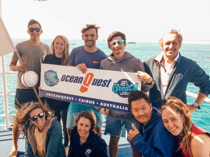 Ocean Quest IDC Divers Den Cairns Great Barrier Reef Queensland Australia