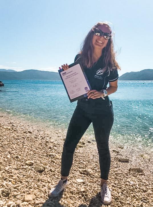 PADI Instructor Fitzroy Island Cairns Queensland Australia