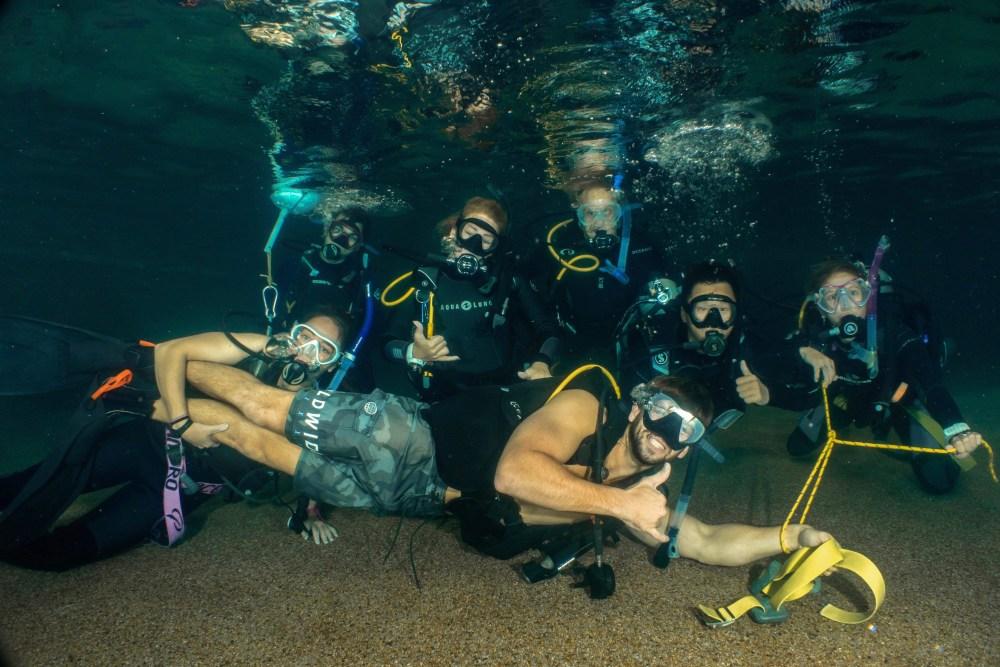 Pool Skills IDC Divers Den Cairns Queensland Australia