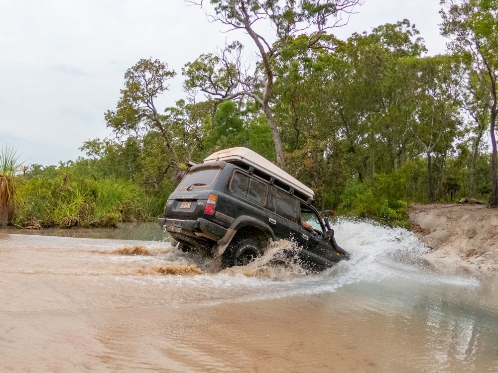 4WD River Fun Cape York Queensland Australia