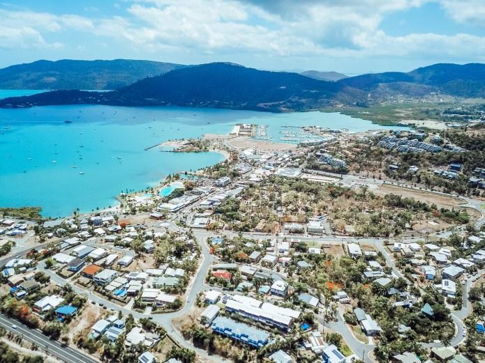Airlie Beach Queensland Australia Drone