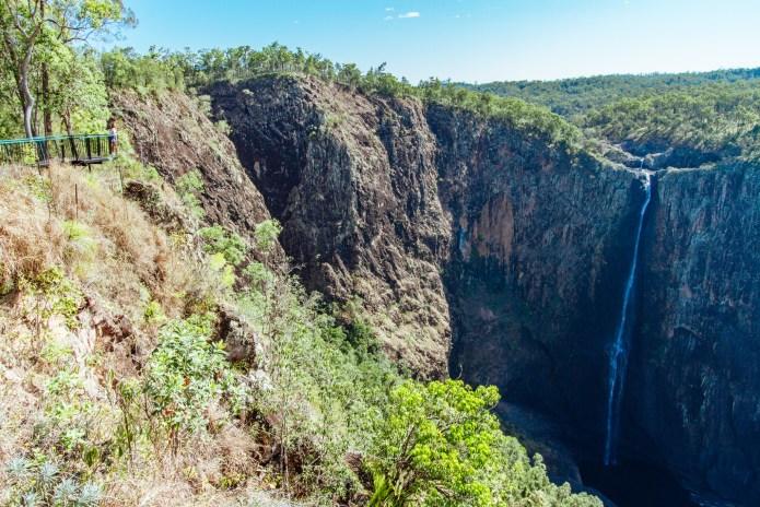 Wallaman Falls Viewing Platform Lookout Queensland Australia