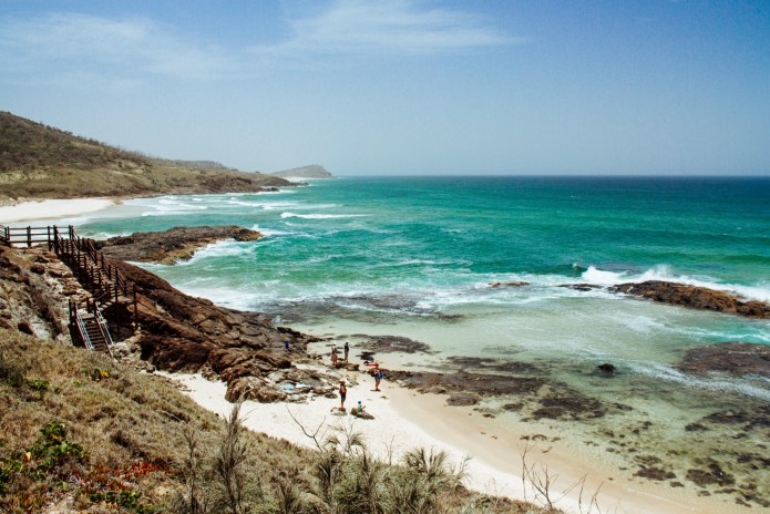 Champagne Pools Fraser Island Queensland Australia