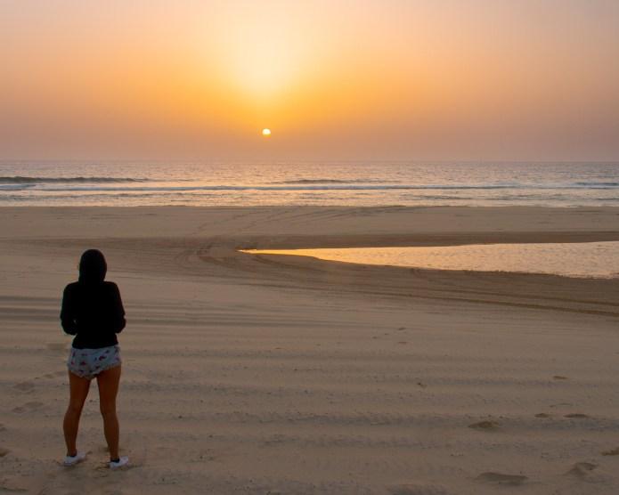 Sunrise Fraser Island Queensland Australia