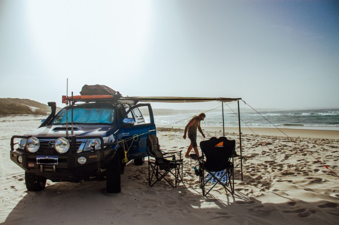Waddy Point Camping K'gari Queensland Australia