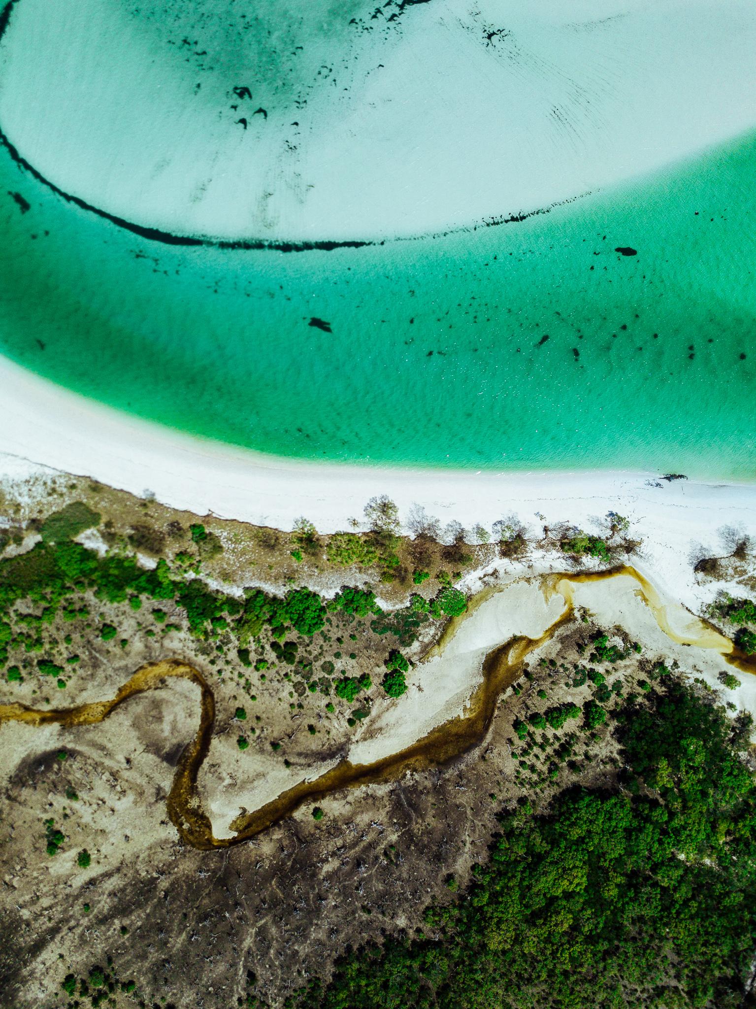 Wathumba Creek K'gari Queensland Australia