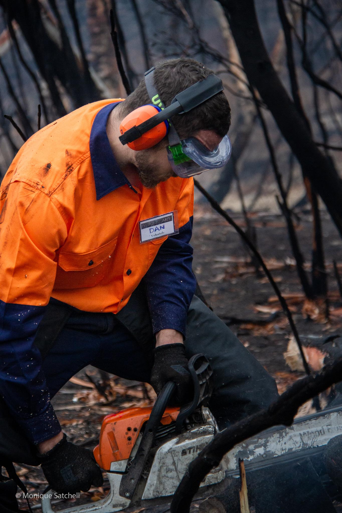 BlazeAid Chainsaw Braidwood New South Wales Australia