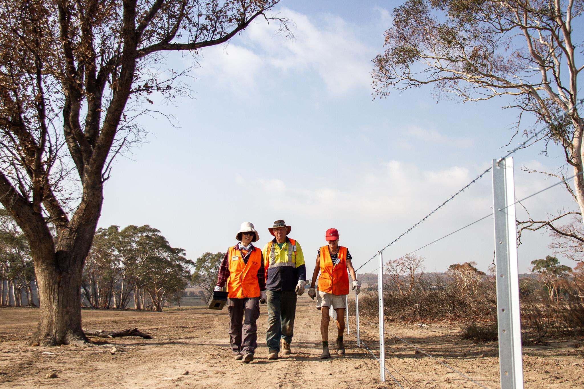 Fence Checks BlazeAid Braidwood New South Wales Australia