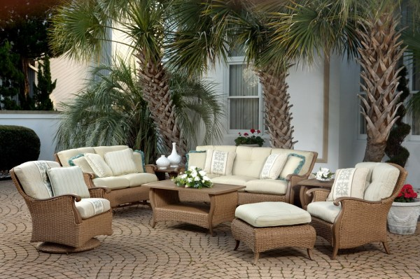 outdoor wicker patio furniture All Weather Wicker Patio Furniture and Dining Sets. - 26