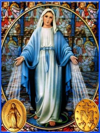 virgen de la medalla milagrosa oracion para un gran favor S