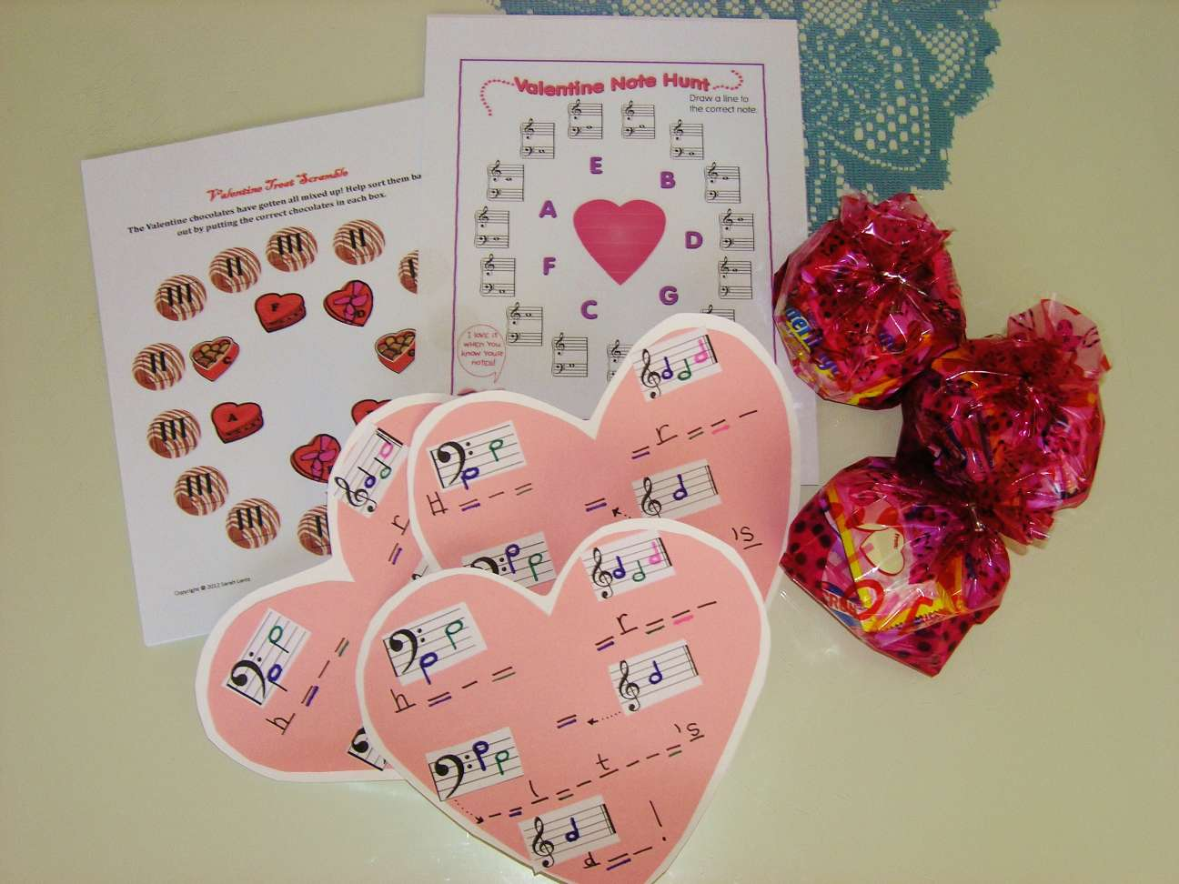 Piano Activities For Valentine S Day