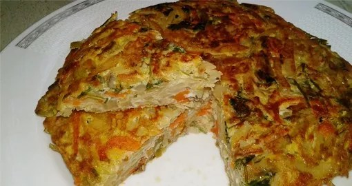 Vegetable Cake Recipe