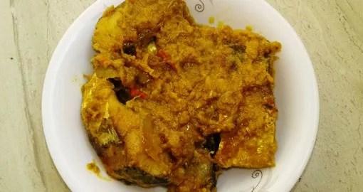 Mustard fish recipe