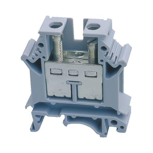 Tablouri electrice Regleta pentru sina DIN  UK  16mm GRI