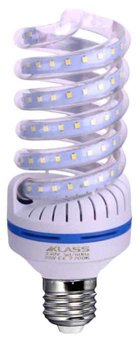 LED - Lichidare de stoc Bec Led – Klass spirala E27/20w 2700k  *TV 0,25ron