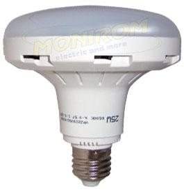 LED - Lichidare de stoc Bec Led – Plat 25w/E27 6400k (d=12cm)  *TV 0,25ron