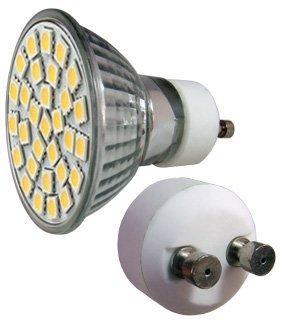 LED - Lichidare de stoc Bec Led – GU10 230v/30pcs/SMD3528  6400k  *TV 0,25ron
