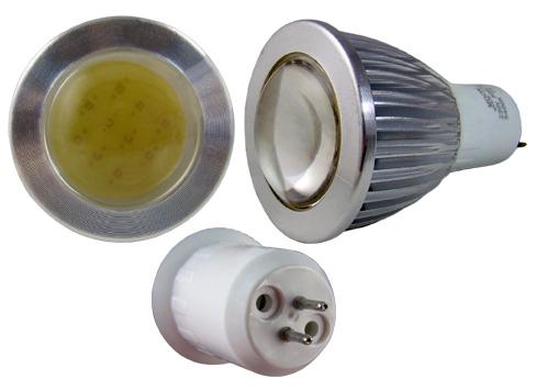 LED - Lichidare de stoc Bec Led – MR16 COB 230v/5w 6400k  *TV 0,25ron