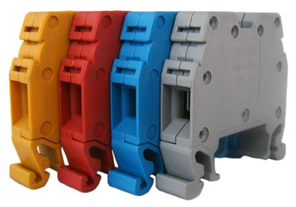 Tablouri electrice Regleta sina DIN – MRK  10mm – red