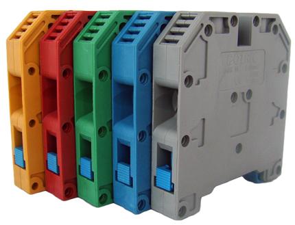 Tablouri electrice Regleta sina DIN – MRK  35mm – blue