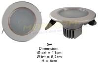 LED - Lichidare de stoc Spot Led  3,0″ – 5w/6400k  *TV 0,25ron