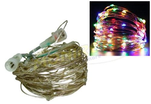 LED - iluminat festiv Instalatie LED pentru Craciun – Sarma RGB (10m)