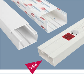 Canal cablu PVC Mutlusan – Acc 45×45 – Canal cablu 100×50