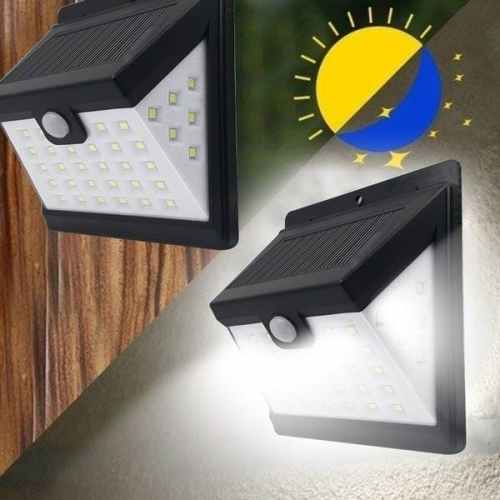 Energie solara Lampa perete solara cu senzor 40smd/6400k  (28 6 6)