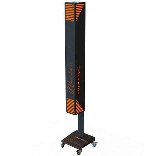 Lampi UV - germicidale Lampa TUV 150w – Air UV cleaner 01/mobila (bactericida , pentru sterilizat aerul , echipata cu lampi UV-C 2x75w)