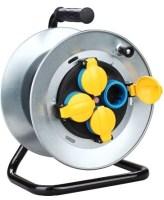 Prelungitoare ruleta Vipex 43041 Prelungitor ruleta metalic IP44 3×2,5mm/25m/MYYM