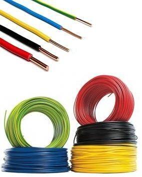 Cabluri electrice CONDUCTOR FY  6mm – Maro (rigid/unifilar) / H07V-U