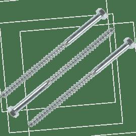 Accesorii pt fixare Holz-surub cap hexagonal 8×120 / 057108120S
