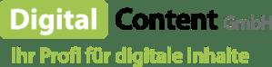Logo Digital Content Gmbh - Ihr Profi für digitale Inhalte