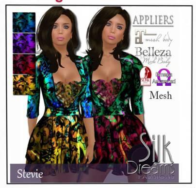 Silk dreams - 299L http://maps.secondlife.com/secondlife/Fashion%20For%20Life8/78/118/26