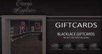 Main floor - gift cards & Omega compatible lingerie