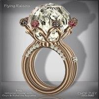 Women's Day 6: Flying Raisins Ring