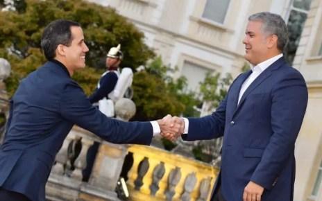 Desafiando prohibici?n de salida del pa?s, Guaid? lleg? a Colombia, Cumbre Antiterrorista, presidente interino de Venezuela, Ivan Duque