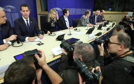 Guaid? en Bruselas, Parlamento Europeo, inmigraci?n venezolana, gira de Guaid? a Europa, Foro Econ?mico Mundial en Davos,