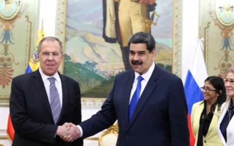 Serg?i Lavrov se reuni? con Maduro en Miraflores