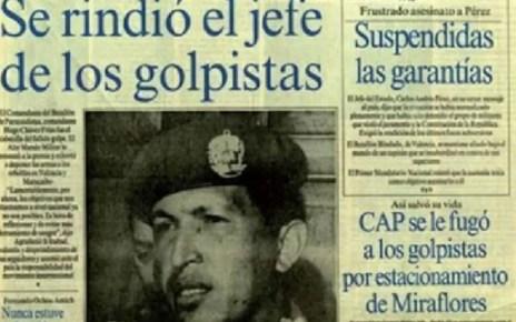 Este martes se cumplen 28 a?os del fallido golpe de estado contra Carlos Andr?s P?rez, El joven comandante, junto a otros compa?eros de armas