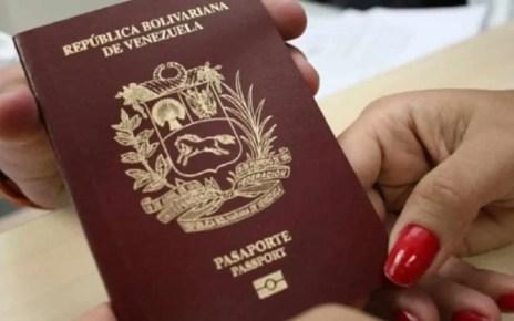 Saime anunció horario para entregar pasaportes y prórrogas